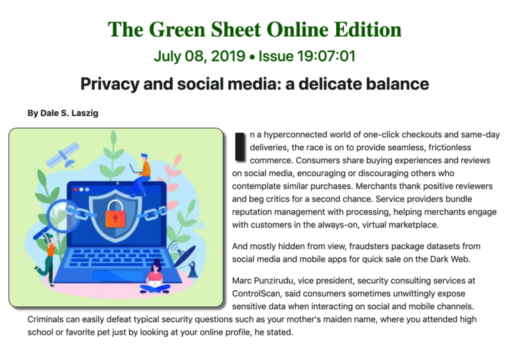 The Green Sheet