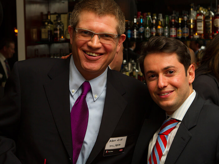 Picture of Adam Atlas Attorney at Law with Dimitri Akhrin IRIS CRM