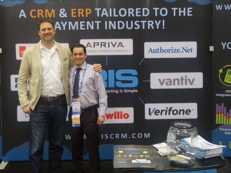 Picture of Henry Helgeson & Dimitri Akhrin in San Francisco CA for ETA Transact 15