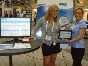 Picture of the First IRIS CRM Electronic Payments Tradeshow Exhibition in Florida 2012