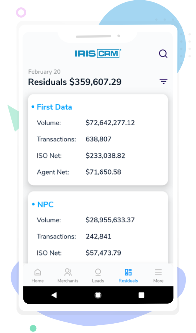 Mobile Access to Key Residuals Data
