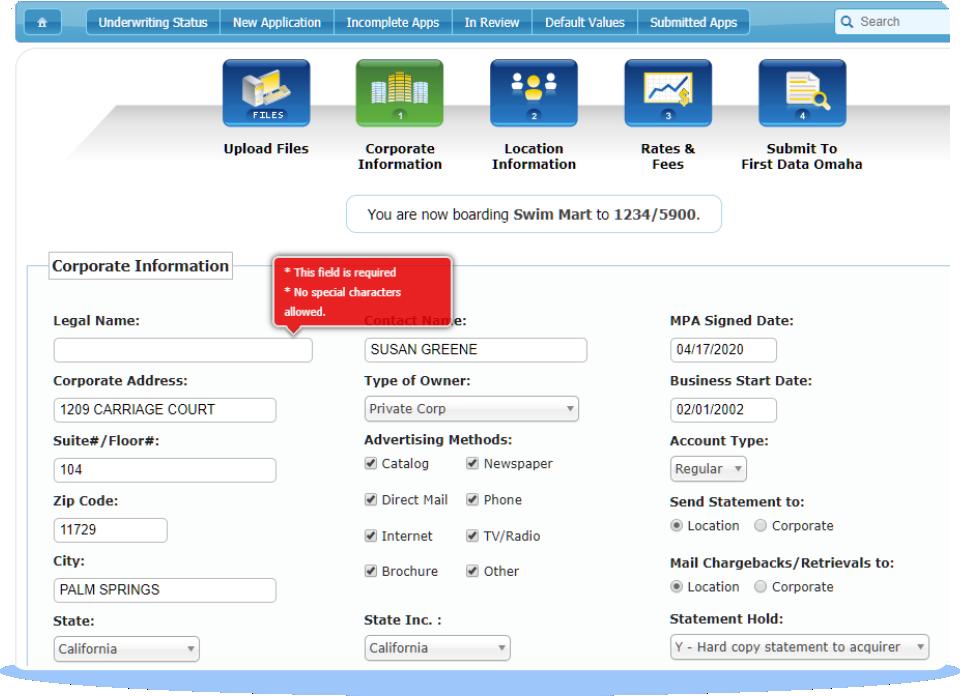 TurboApp Application-Wide Field Validation.