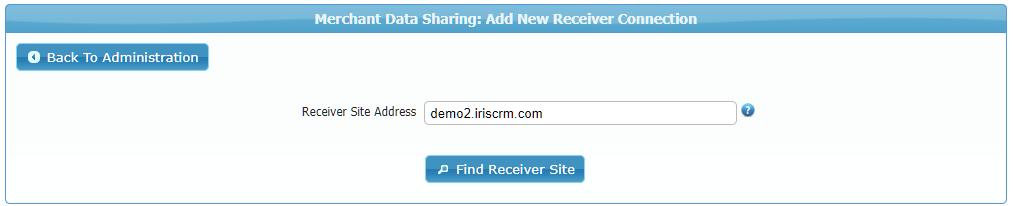 Find Receiver Site
