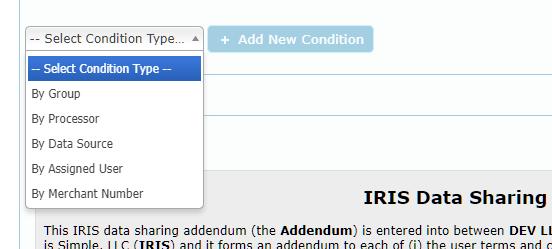 Condition type