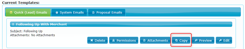 Copy Email